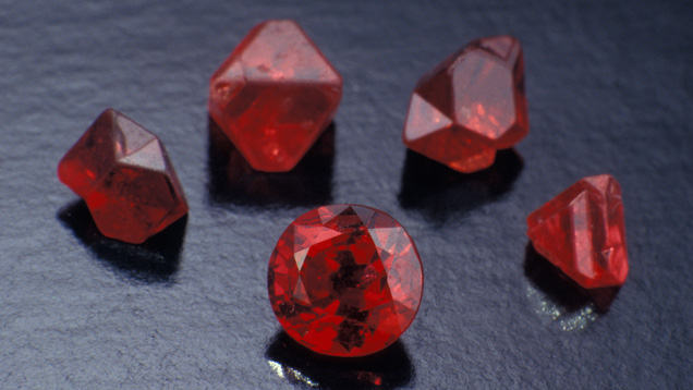 Fashioned and Rough Spinel