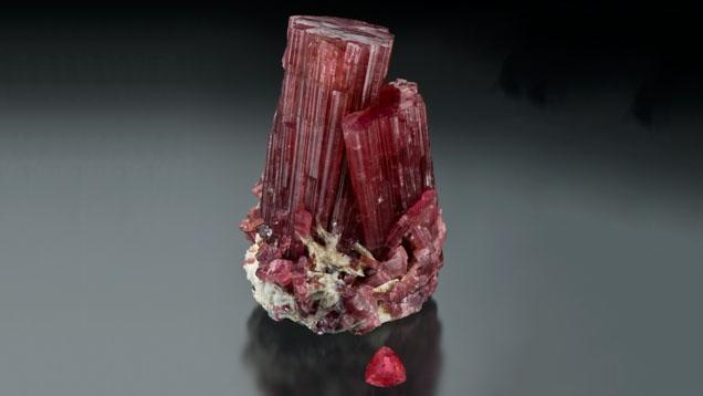 Rubellite Tourmaline Crystal
