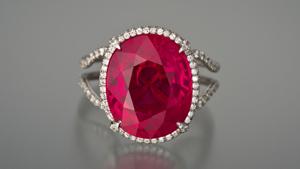 11.01-carat Ruby