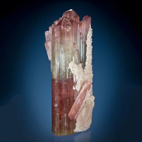 Bicolor Tourmaline Crystal