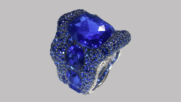 sapphire ring listing gold ice au light blue il oval engagement rose