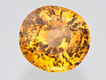 12.36 ct Garnet - Grossular (Hessonite) from Sri Lanka