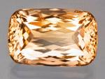 产自马达加斯加的 15.81 克拉赛黄晶