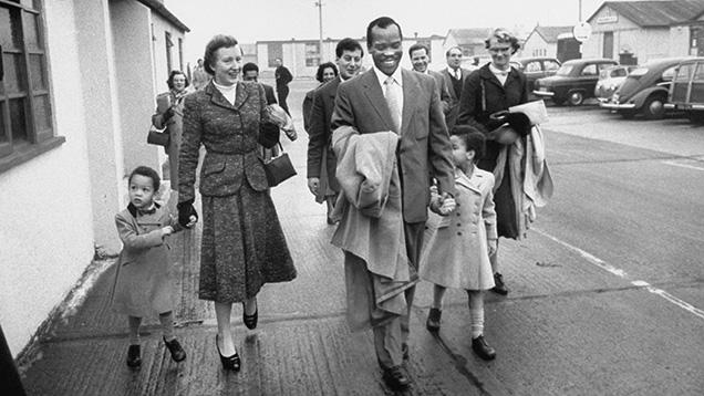 Khama family in 1948