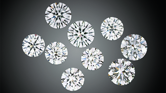 Colorless CVD-Grown Synthetic Diamond