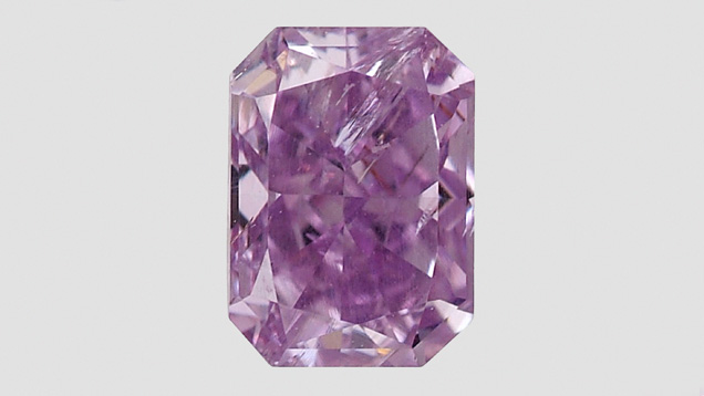 0.81-carat Fancy Color Diamond