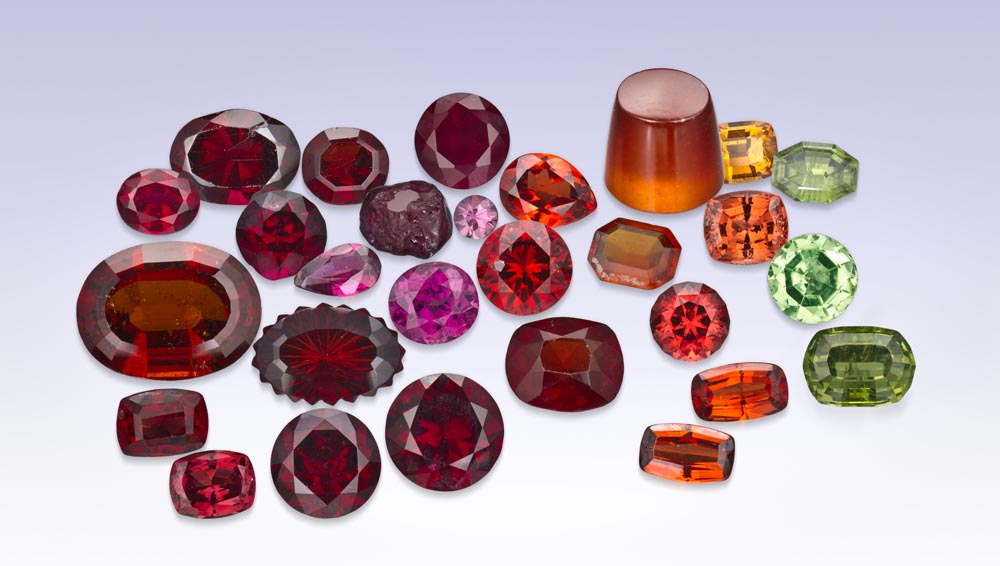 Garnet Gemstone   Garnet Stone – GIA