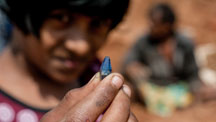 Although Sri Lanka has been a source of sapphires for thousands of years, a new deposit was discovered on February 14, 2012 near Kataragama.
