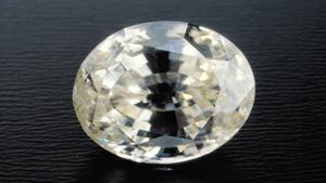 13.70 克拉 椭圆形锆石