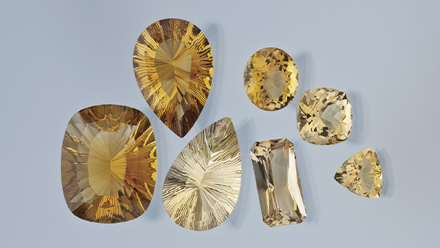 Zambia Cut Citrines