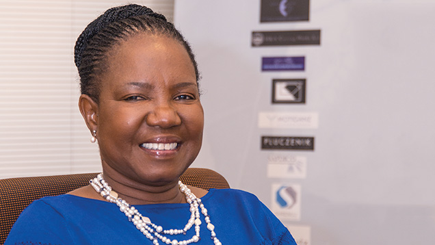 Pauline Paledi, Botswana Diamond Manufacturers Association