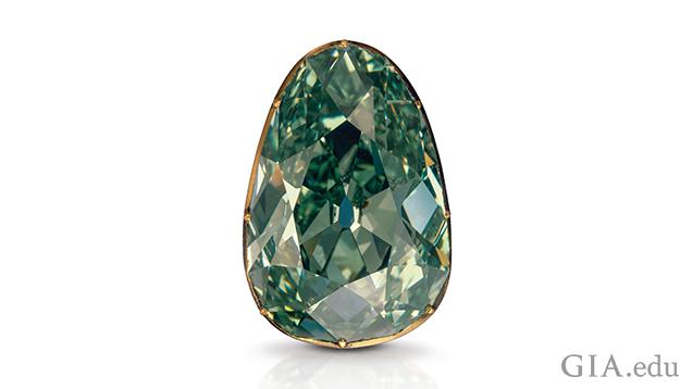 Image of Dresden Green diamond