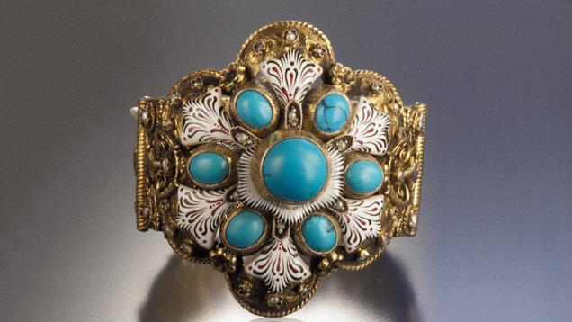 Hungarian cuff bracelet