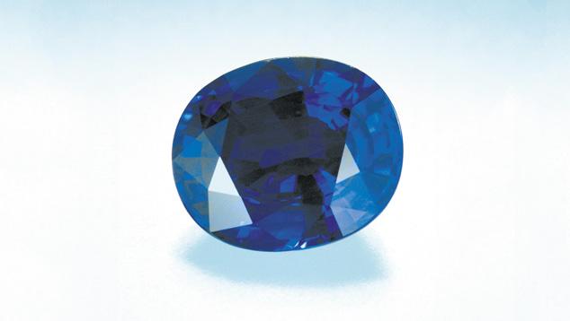 Oval-cut Sapphire