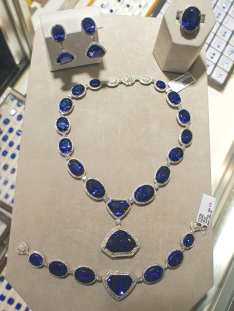 Suite of Tanzanite Jewelry