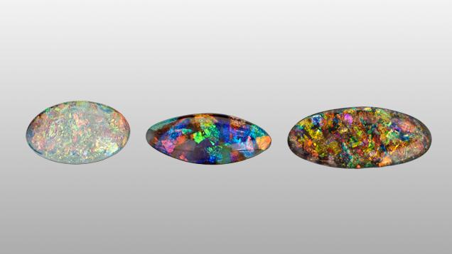 Opal Simulants, slocum stones