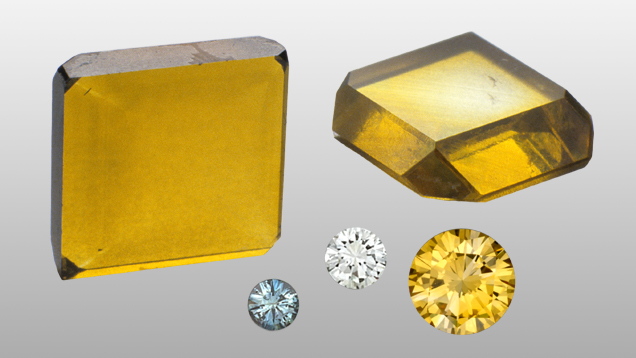 HPHT synthetic diamonds