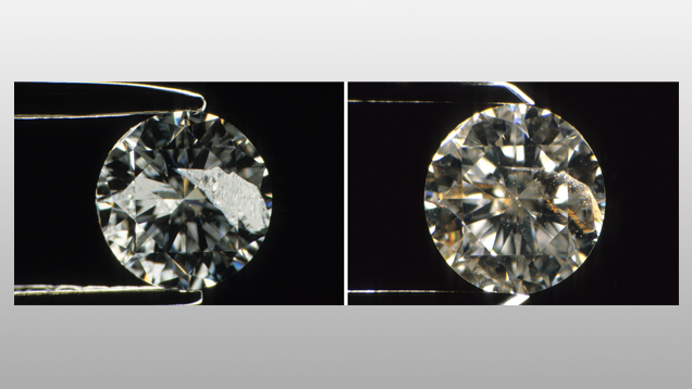 Fracture Filled Diamonds