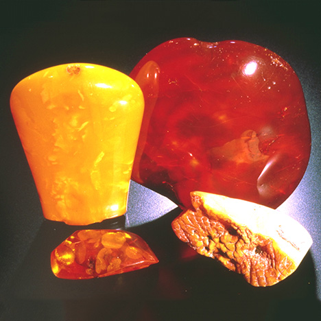 Amber in a Variety of Colors