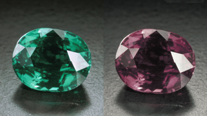Colour Change in Alexandrite