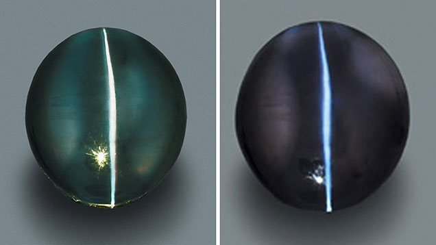 Cat's-eye Alexandrite