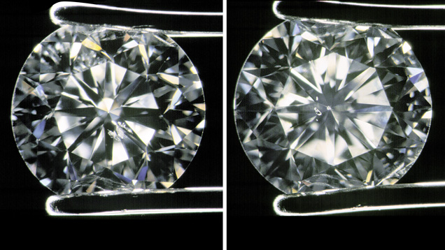 Identifying Diamonds