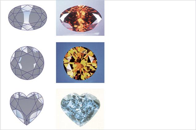 Fancy Color Diamond Blue Chart