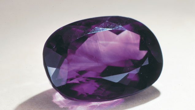 Amethyst with Visible Colour Zones