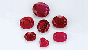 Variety of rubies from northern Mozambique, 2009–2010