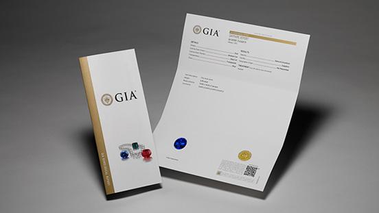 Colored Stone Identification Report