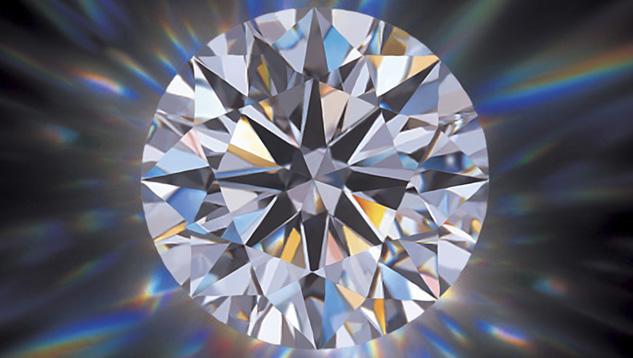 最高のカットグレードを備える、Zbirdの「オーロラ」ブランドのダイヤモンド