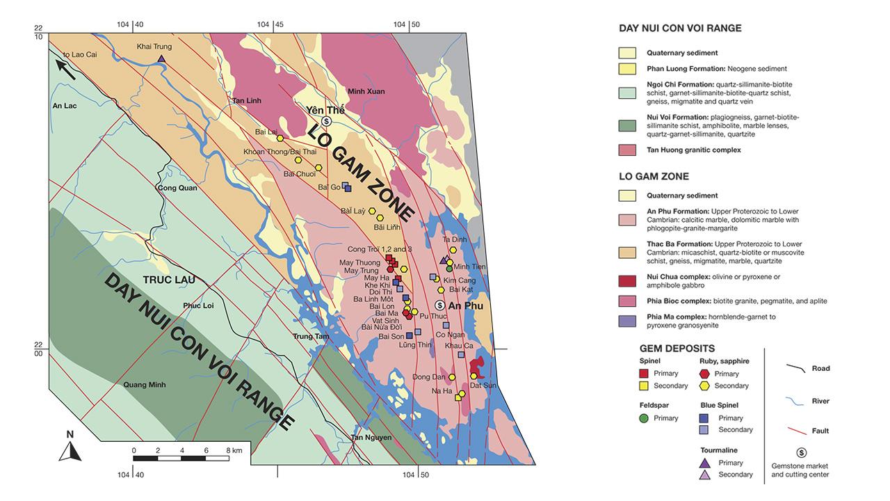 Update on Gemstone Mining in Luc Yen, Vietnam | Gems & Gemology