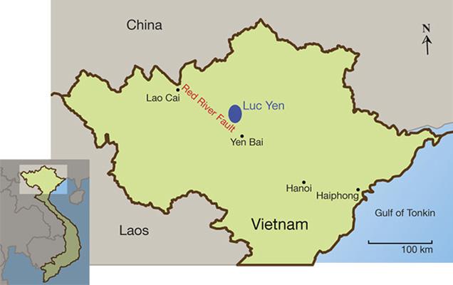 Update on gemstone mining in luc yen vietnam gems gemology update on gemstone mining in luc yen vietnam gumiabroncs Choice Image