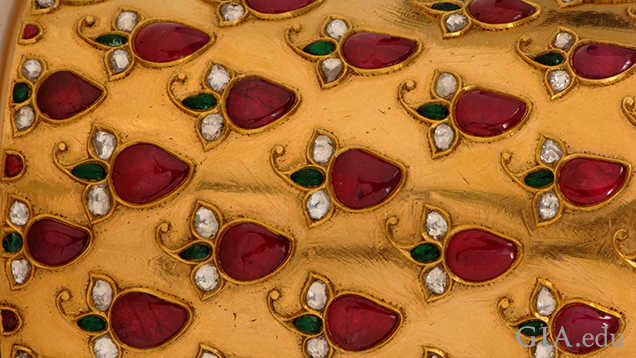 Mughal Bracelet Detail