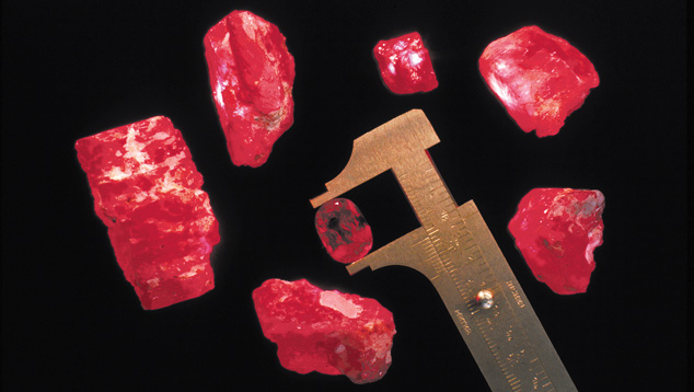 Rubies from Myanmar