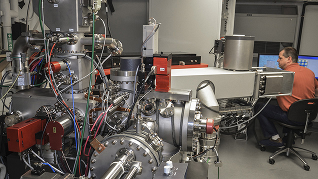Department of Terrestrial Magnetism's ion microprobe