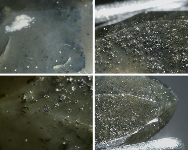 NPD synthetic diamond photomicrographs