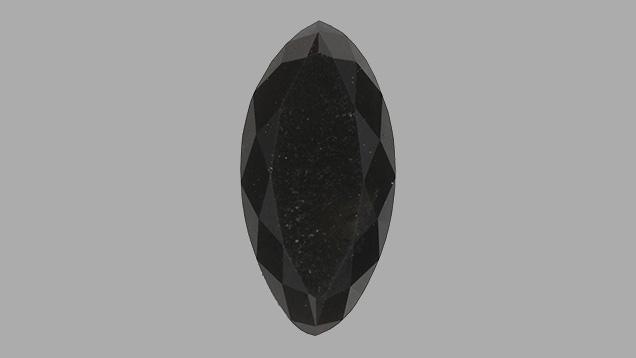 Fancy black NPD synthetic diamond