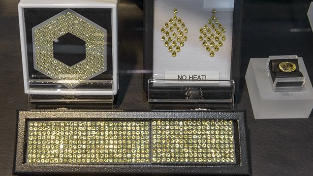 Unheated yellow sapphire