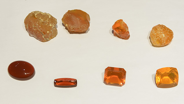 Rough Mexican opal