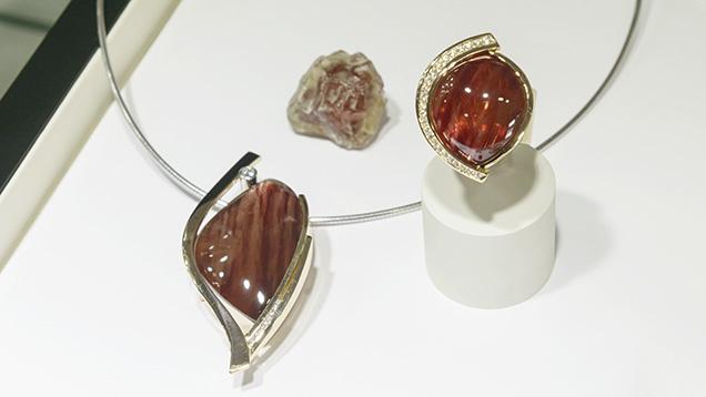 Oregon sunstone jewelry