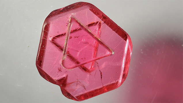 Star of David spinel