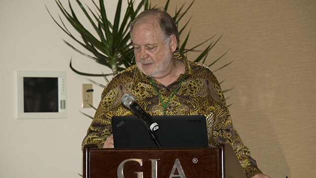 William Skip Simmons at the 2014 Sinkankas Symposium