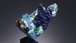 Linarite from Hoppel Collection