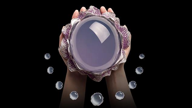 顶级品质的紫罗兰色硬玉
