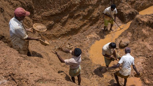Open-Pit Mine in Elahera
