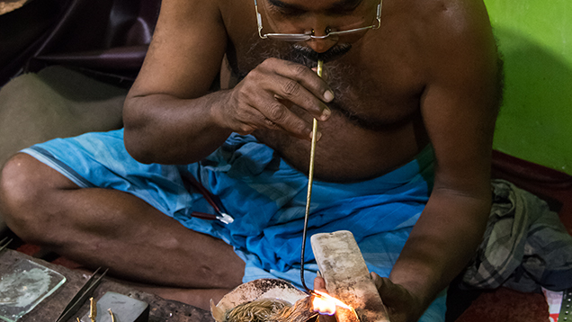Traditional Jewelry Manufacturing