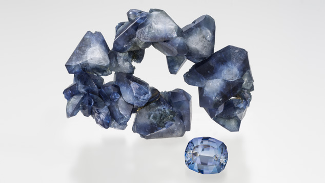 Benitoite Wreath