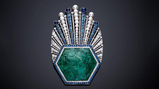French designer Paul Iribe's aigrette, circa 1910