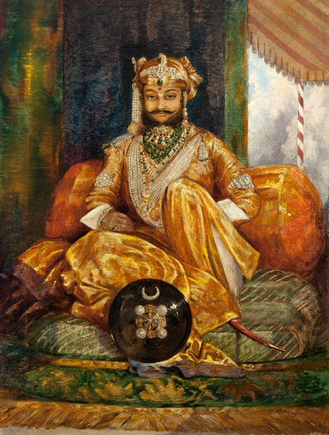 His Highness the Maharajah of Indore